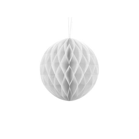 Honeycomb Ball biela - 10cm,20cm a 30cm  - Obrázok č. 1