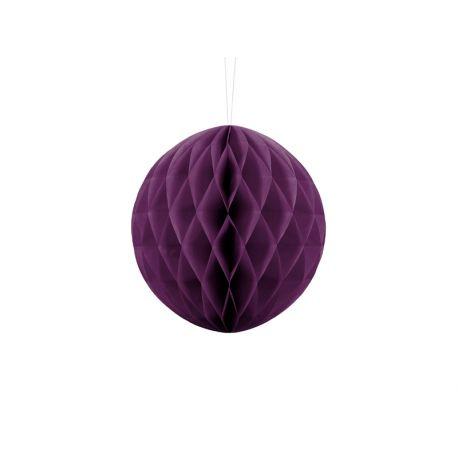 Honeycomb Ball fialová - 10cm,20cm a 30cm - Obrázok č. 1