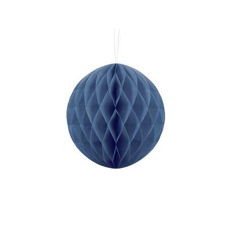 Honeycomb Ball modrá tmavá - 10cm,20cm a 30cm - Obrázok č. 1