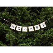Banner Mr & Mrs,