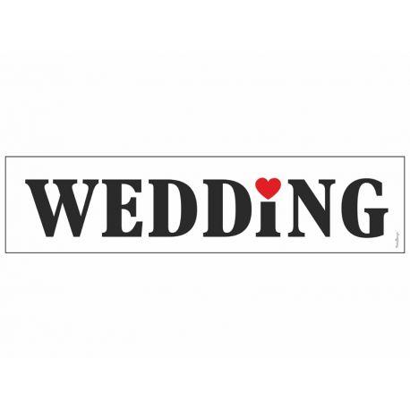 Svadobná ŠPZ - wedding - Obrázok č. 1