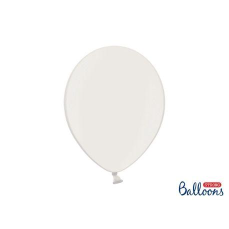 Balón metalický - biely - Obrázok č. 1