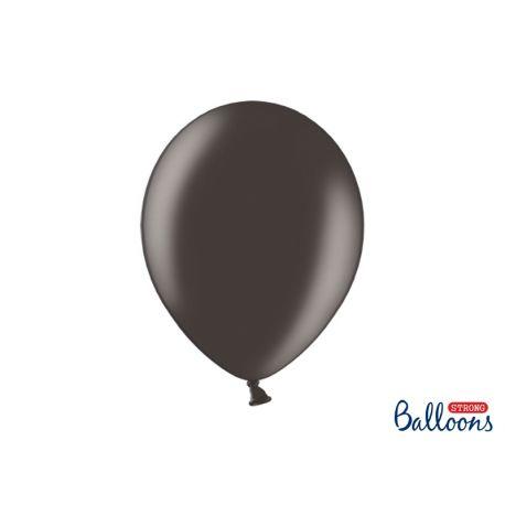Balón metalický - čierny - Obrázok č. 1