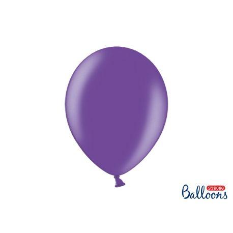 Balón metalický - fialový - Obrázok č. 1