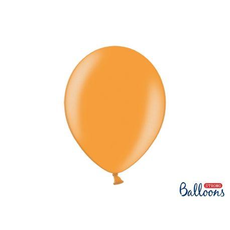 Balón metalický - oranžový - Obrázok č. 1