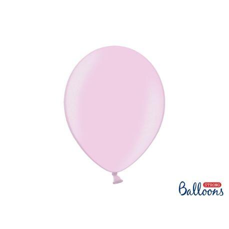 Balón metalický - ružový - Obrázok č. 1