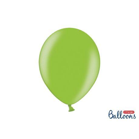 Balón metalický - svetlo zelený  - Obrázok č. 1