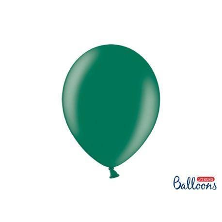 Balón metalický - tmavo zelený - Obrázok č. 1