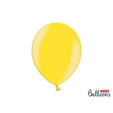 Balón metalický - žltý - Obrázok č. 1