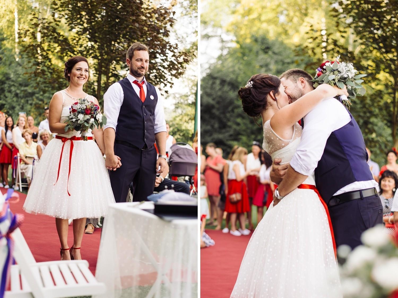 Terka a Michal, retro svatba na přehradě - Obrázek č. 2
