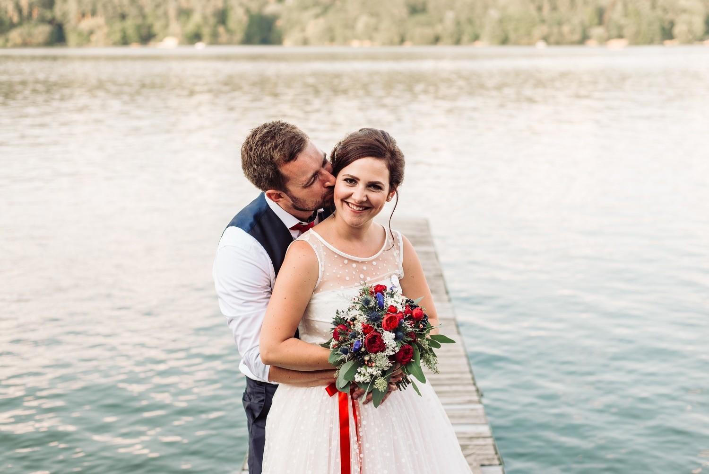 Terka a Michal, retro svatba na přehradě - Obrázek č. 5