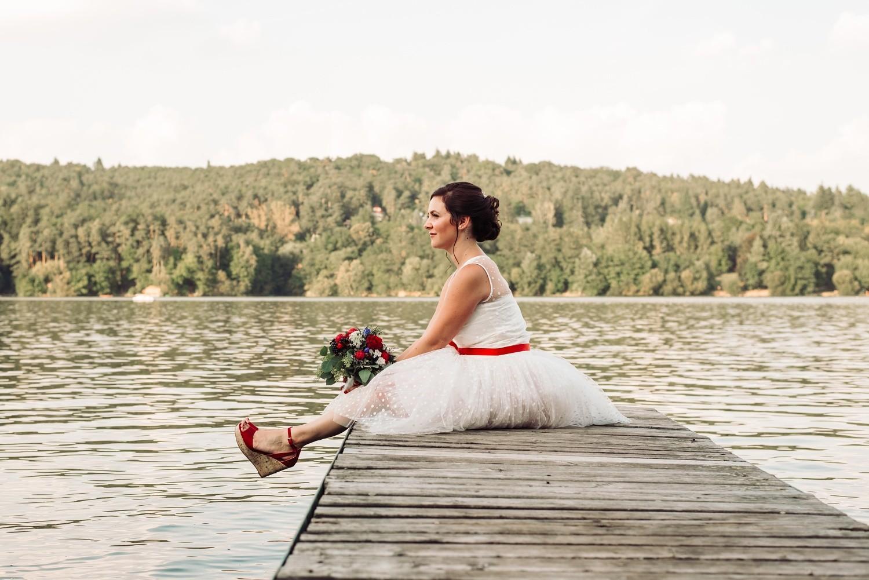 Terka a Michal, retro svatba na přehradě - Obrázek č. 6