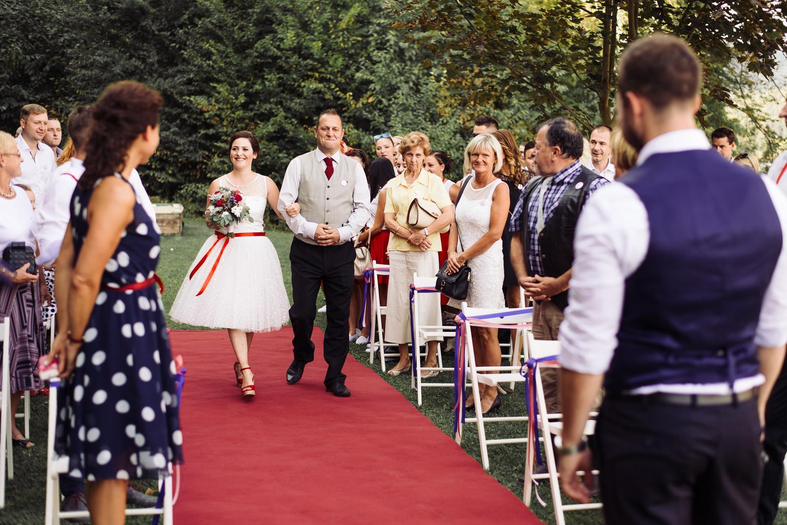 Terka a Michal, retro svatba na přehradě - Obrázek č. 63