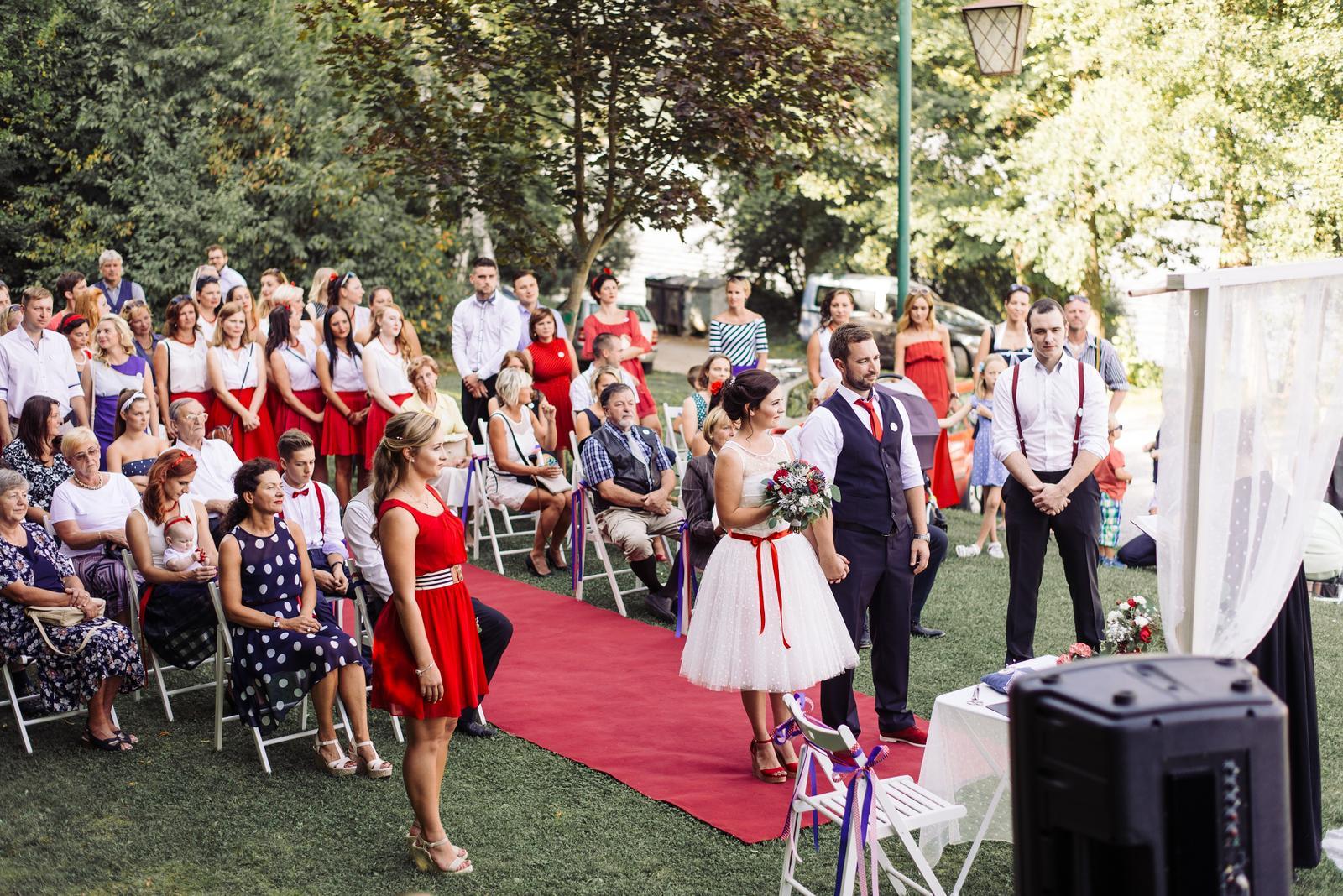 Terka a Michal, retro svatba na přehradě - Obrázek č. 64