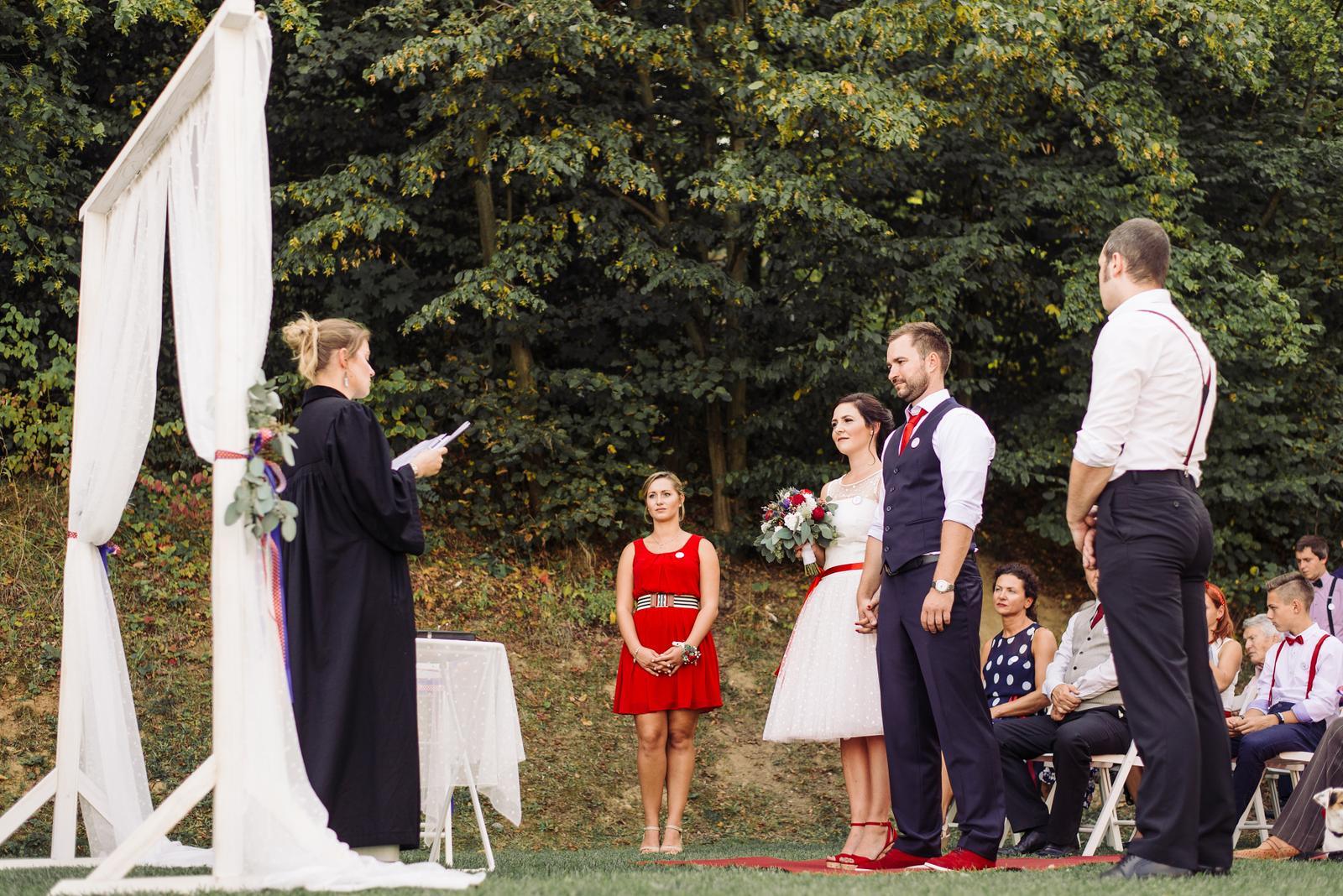 Terka a Michal, retro svatba na přehradě - Obrázek č. 68
