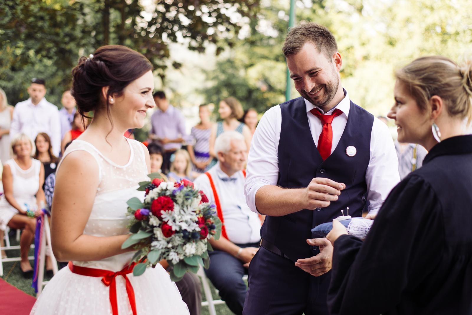 Terka a Michal, retro svatba na přehradě - Obrázek č. 74