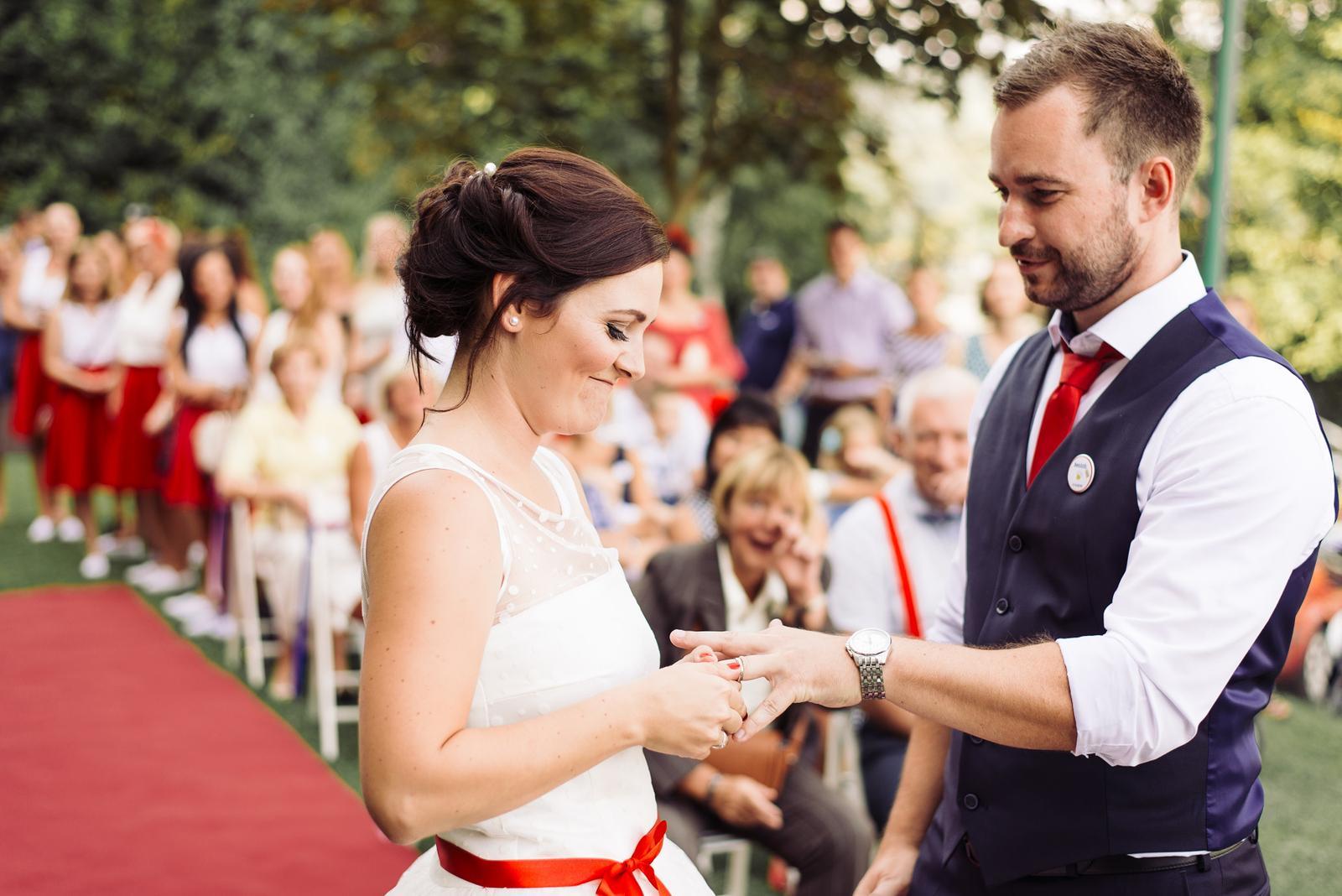 Terka a Michal, retro svatba na přehradě - Obrázek č. 76