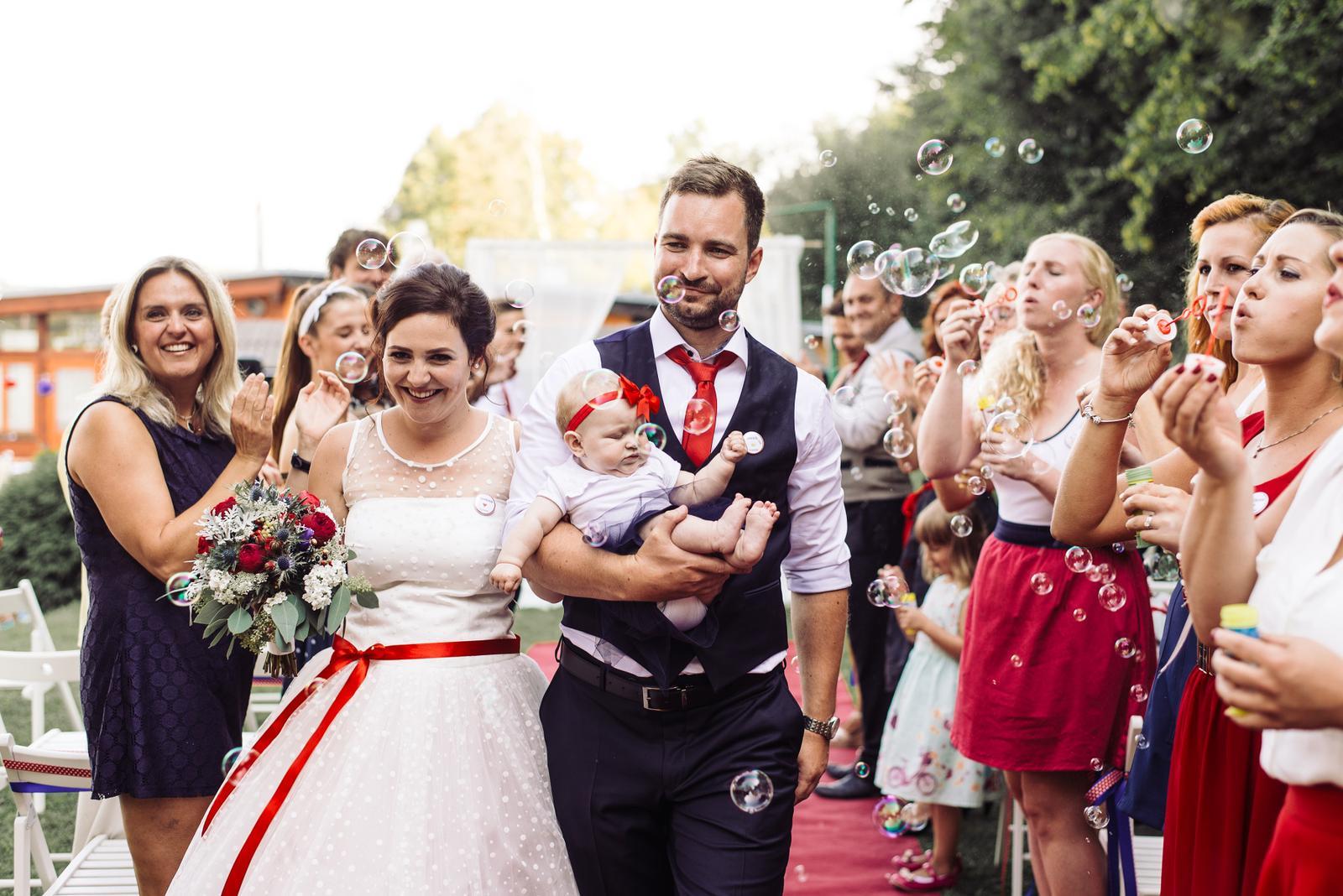 Terka a Michal, retro svatba na přehradě - Obrázek č. 81