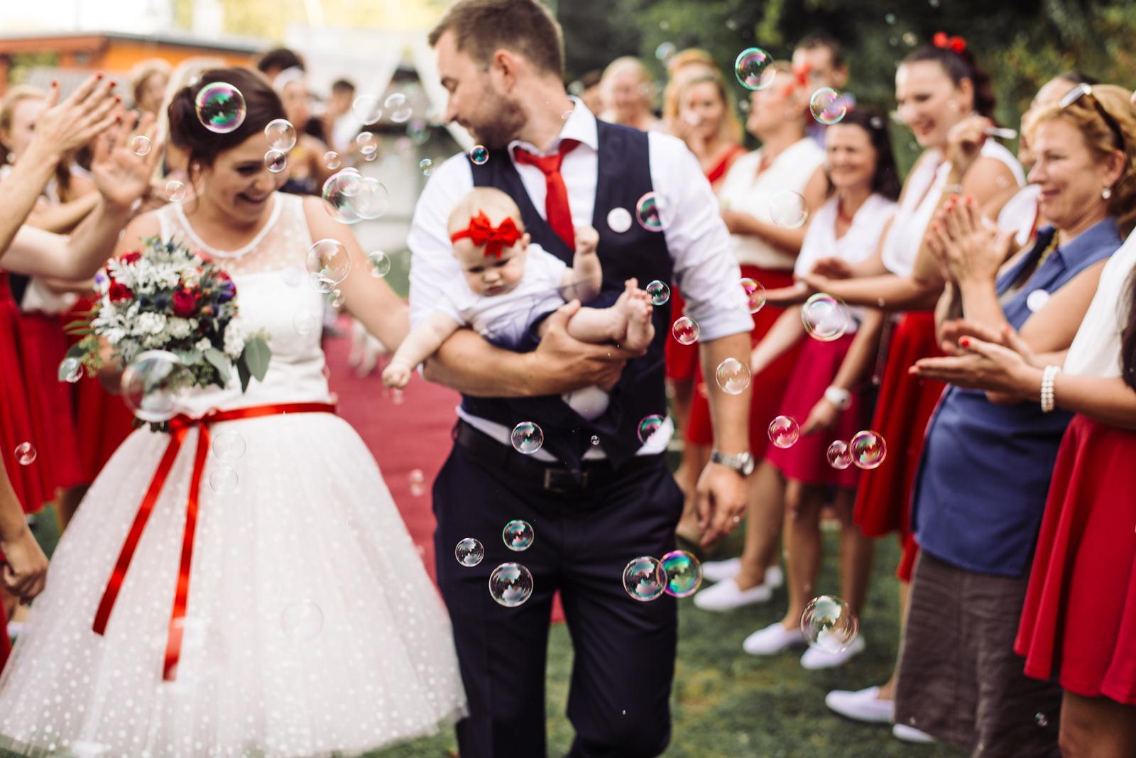 Terka a Michal, retro svatba na přehradě - Obrázek č. 82