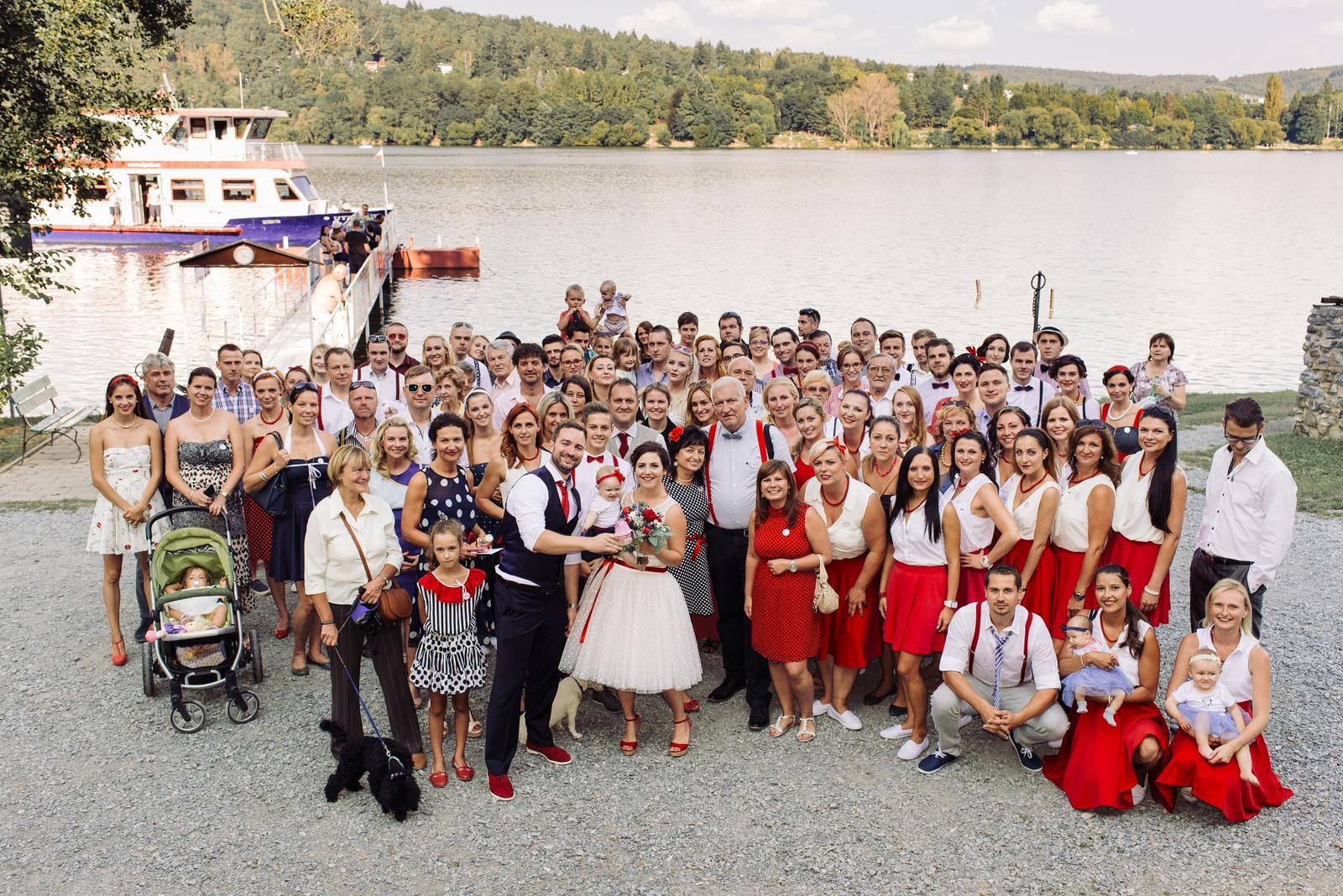 Terka a Michal, retro svatba na přehradě - Obrázek č. 83