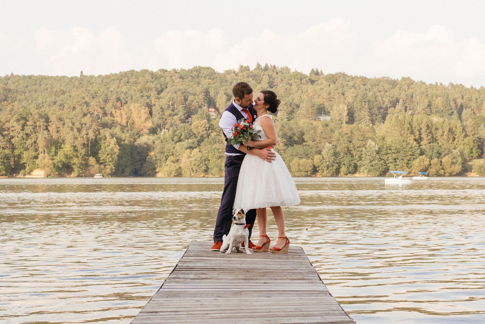 Terka a Michal, retro svatba na přehradě - Obrázek č. 93