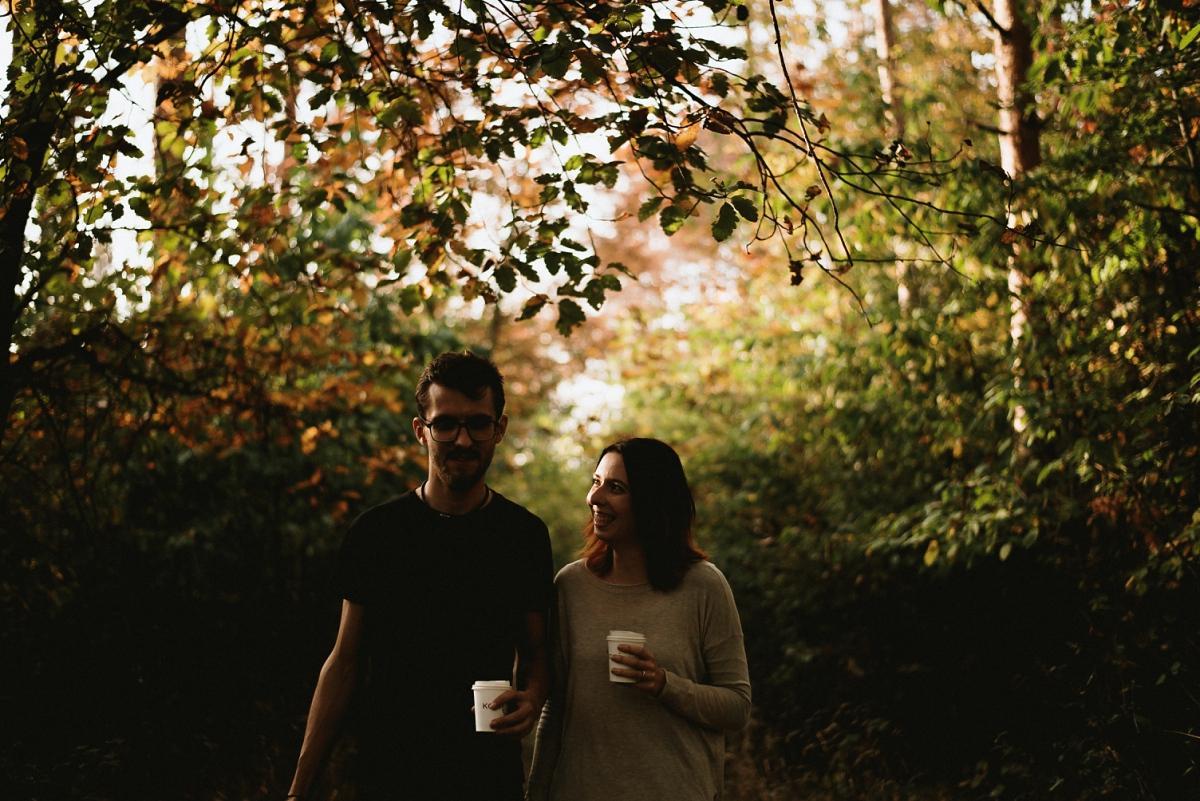 Zásnubní piknik, podzimní sluníčko, podzimní listí, pohodička - Obrázek č. 1