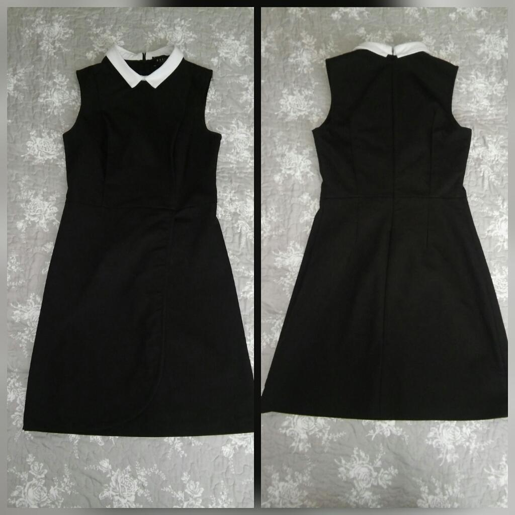 Čierne spoločenské šaty - krátke - Obrázok č. 1