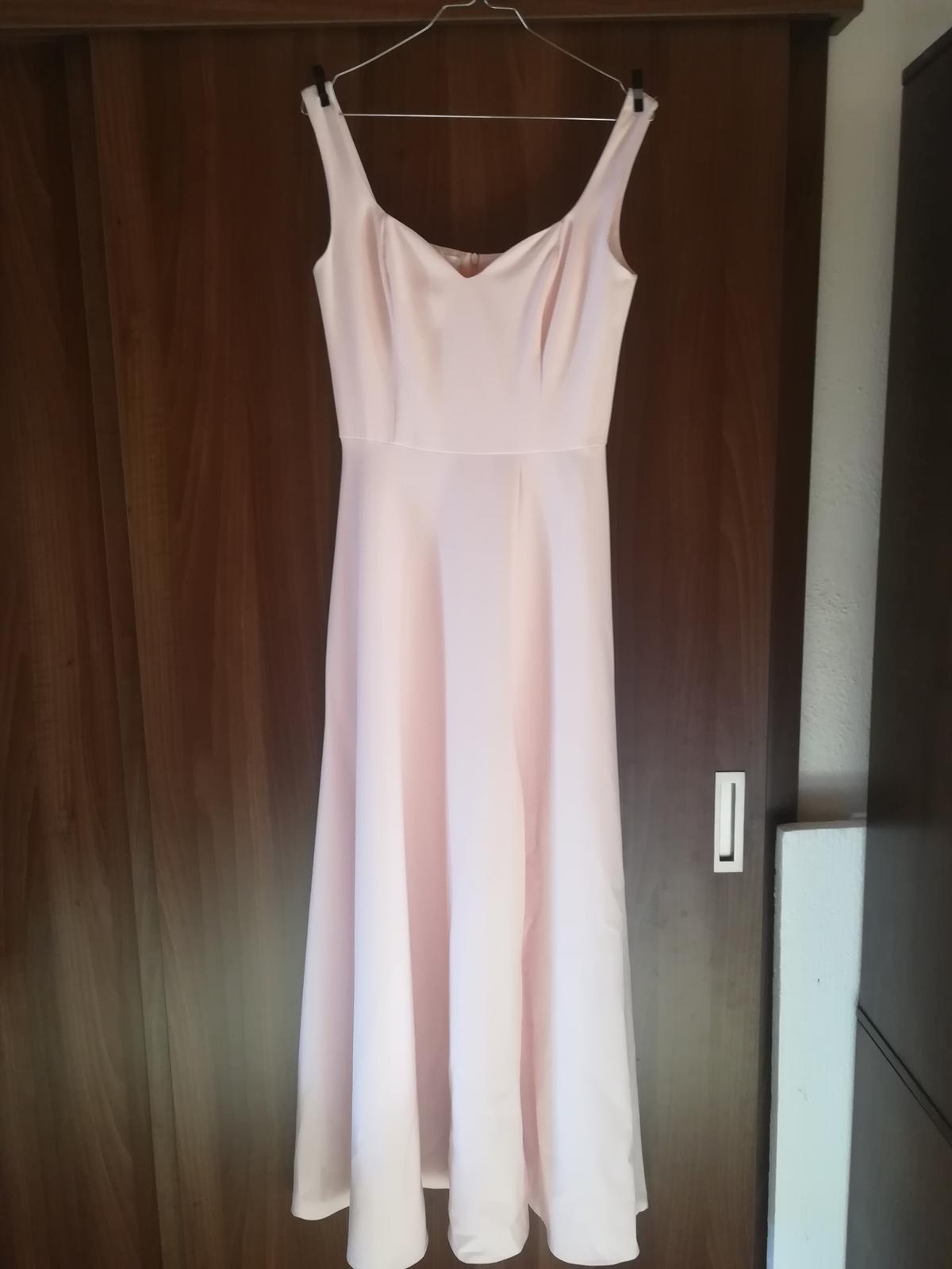 Ružové spoločenské šaty - Obrázok č. 1