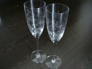 no a svadobné poháre, jemné