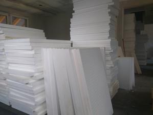 polystyren 320 nakupeny ide sa ukladat