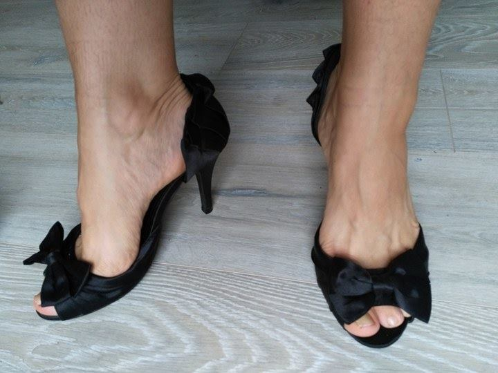Elegantné čierne topánky - Obrázok č. 4