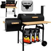 BBQ-Smoker grilovací vozík,