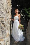 Jednoduché splývavé antické šaty, 34