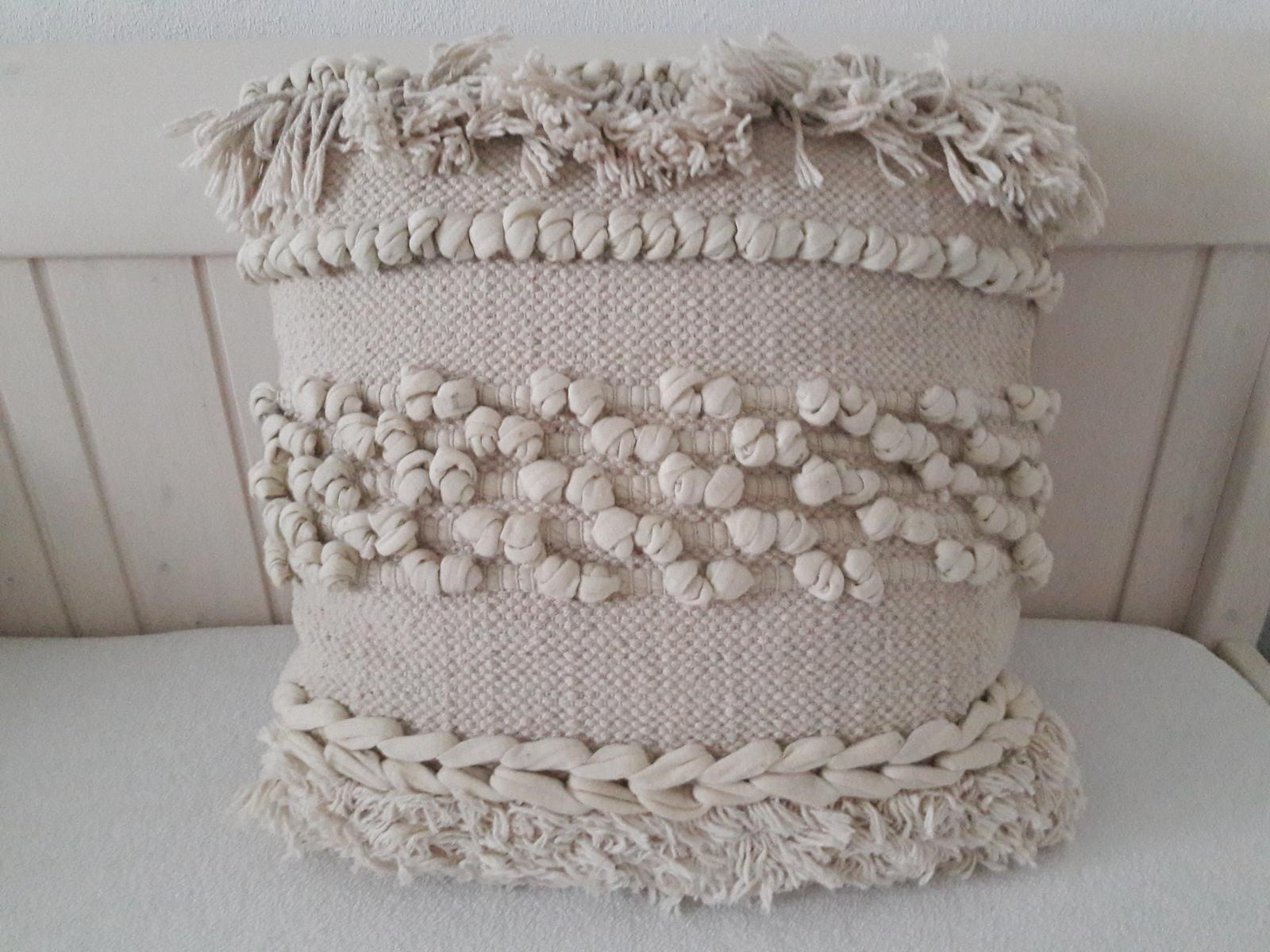 Bavlněný polštář - Obrázek č. 1