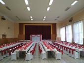 Svadobné dekorácie - červeno biele,