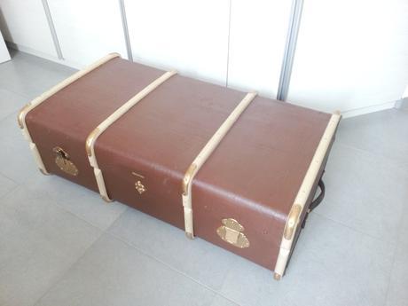 Starožitný kufr - Obrázek č. 1