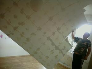 gycove polystyrenove kazety zo stropu padli raz-dva :-)