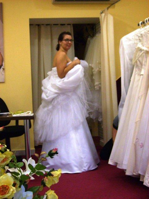 Príjemné svadobné starosti :-) - foto z poslednej skusky pred svadbou