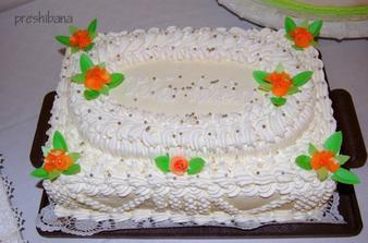 Torta od mojho krstneho na redovy
