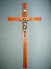 ..no a krížik ktorý sme si kúpili do kostolíka