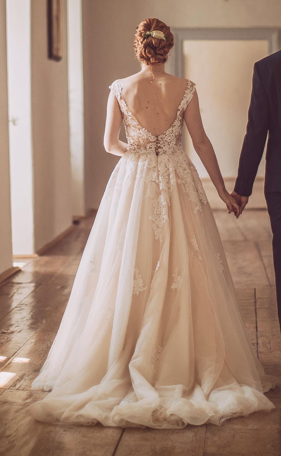Svatební šaty zn. Pronovias - model Ofelia - Obrázek č. 2