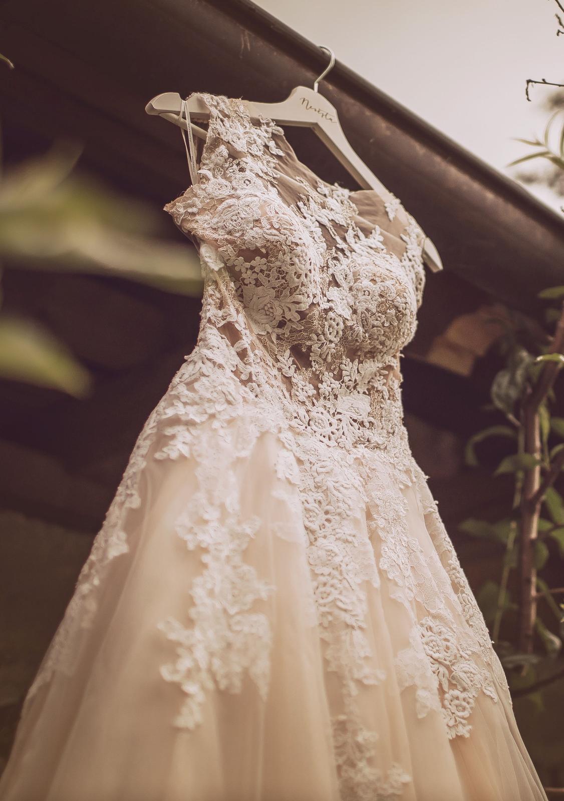 Svatební šaty zn. Pronovias - model Ofelia - Obrázek č. 3