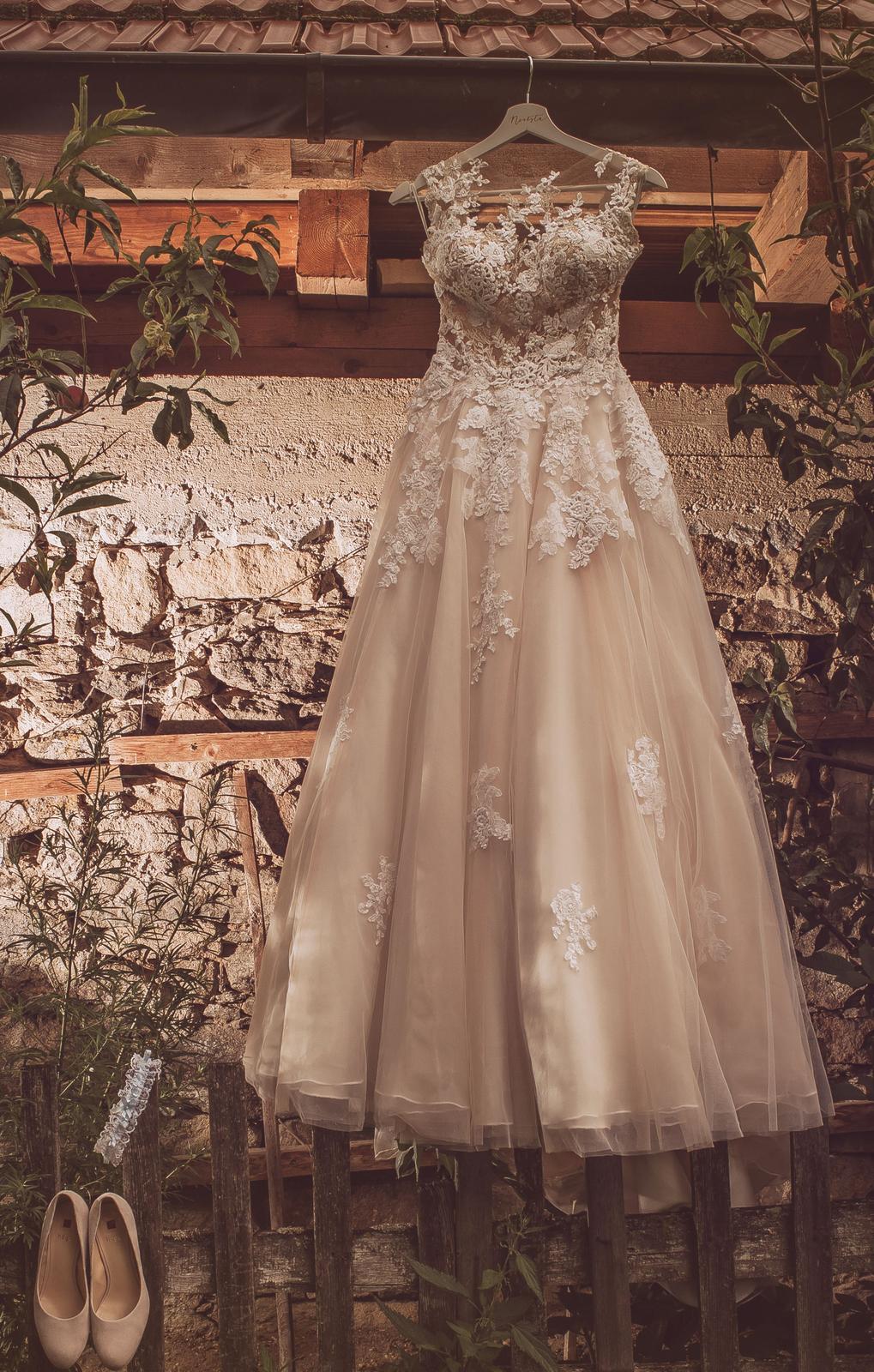 Svatební šaty zn. Pronovias - model Ofelia - Obrázek č. 4