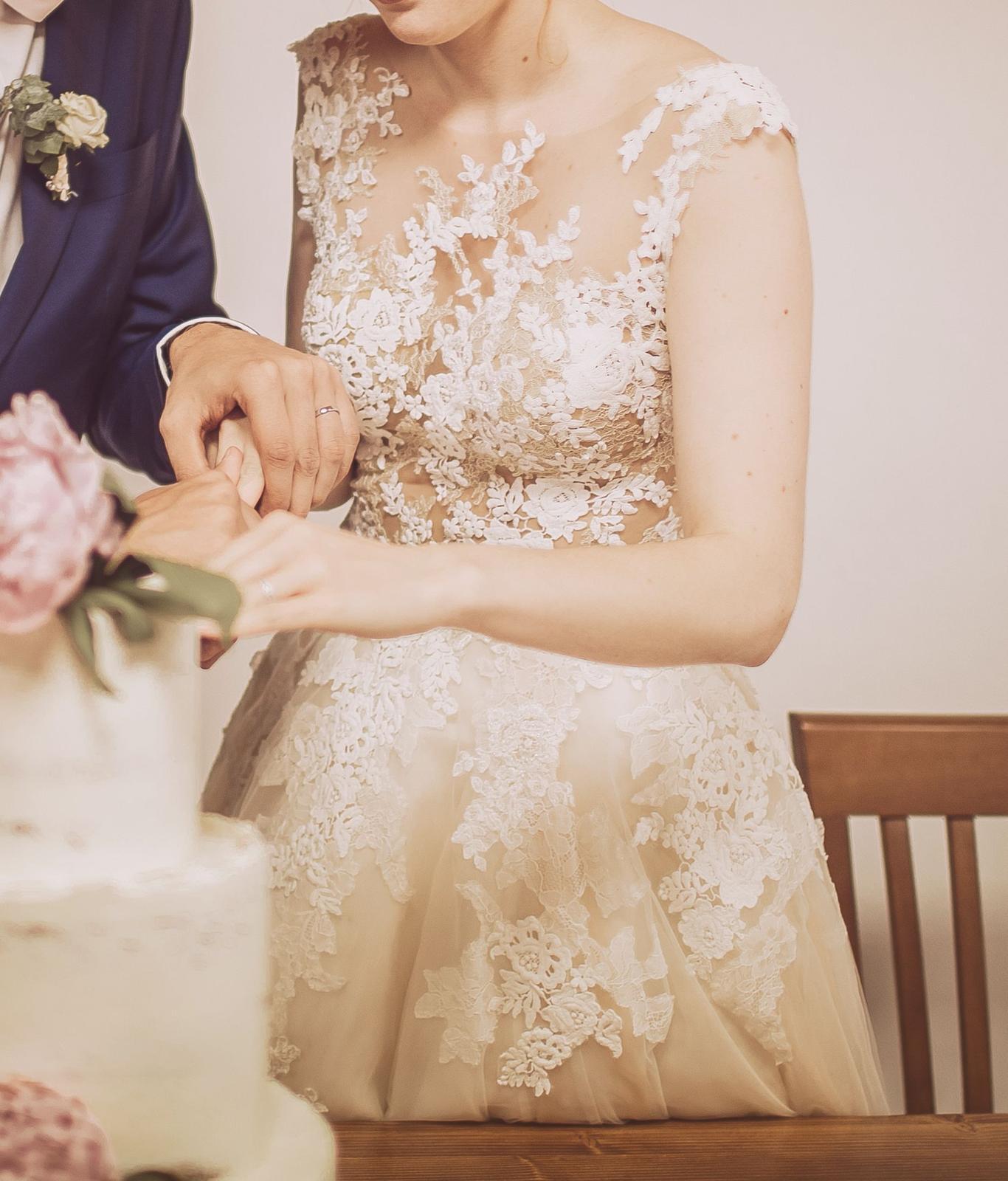 Svatební šaty zn. Pronovias - model Ofelia - Obrázek č. 1