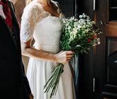 kvalitne svadobne saty, 38