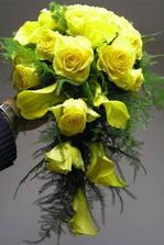 Krásne kytice...