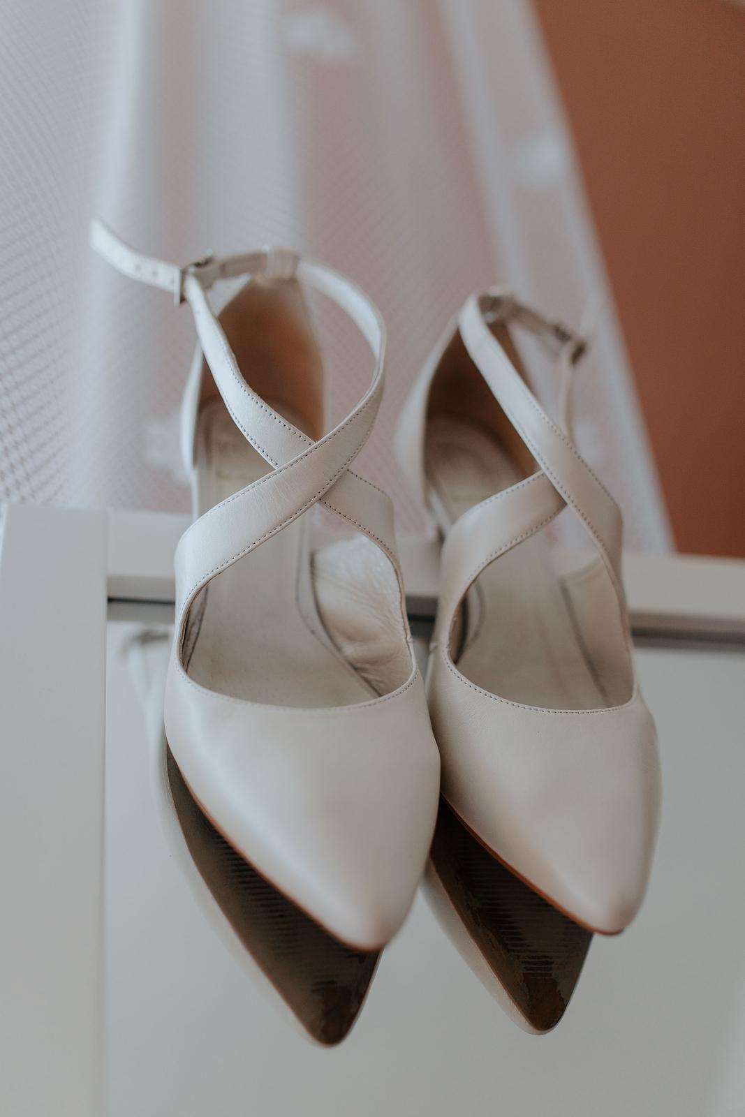 Svadobné topánky BUTDAM 39 - Obrázok č. 1