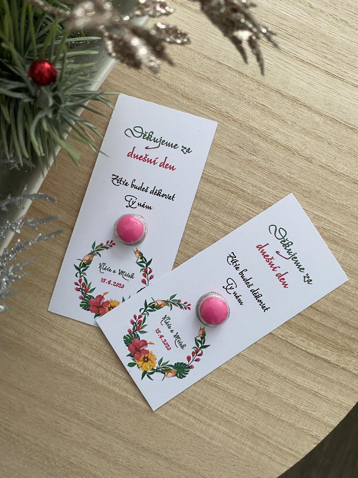 První pomoc po svatbě - malé dárky - Obrázek č. 1