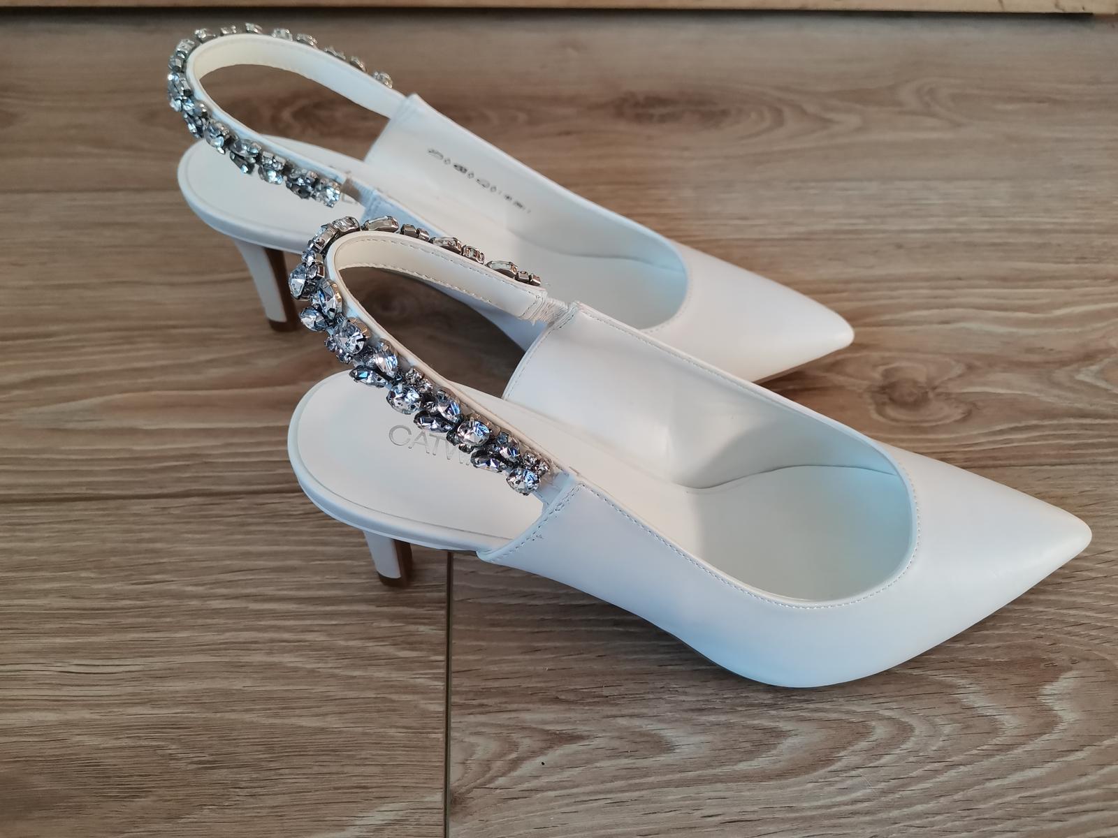 Svadobné topánky / lodičky - Obrázok č. 1