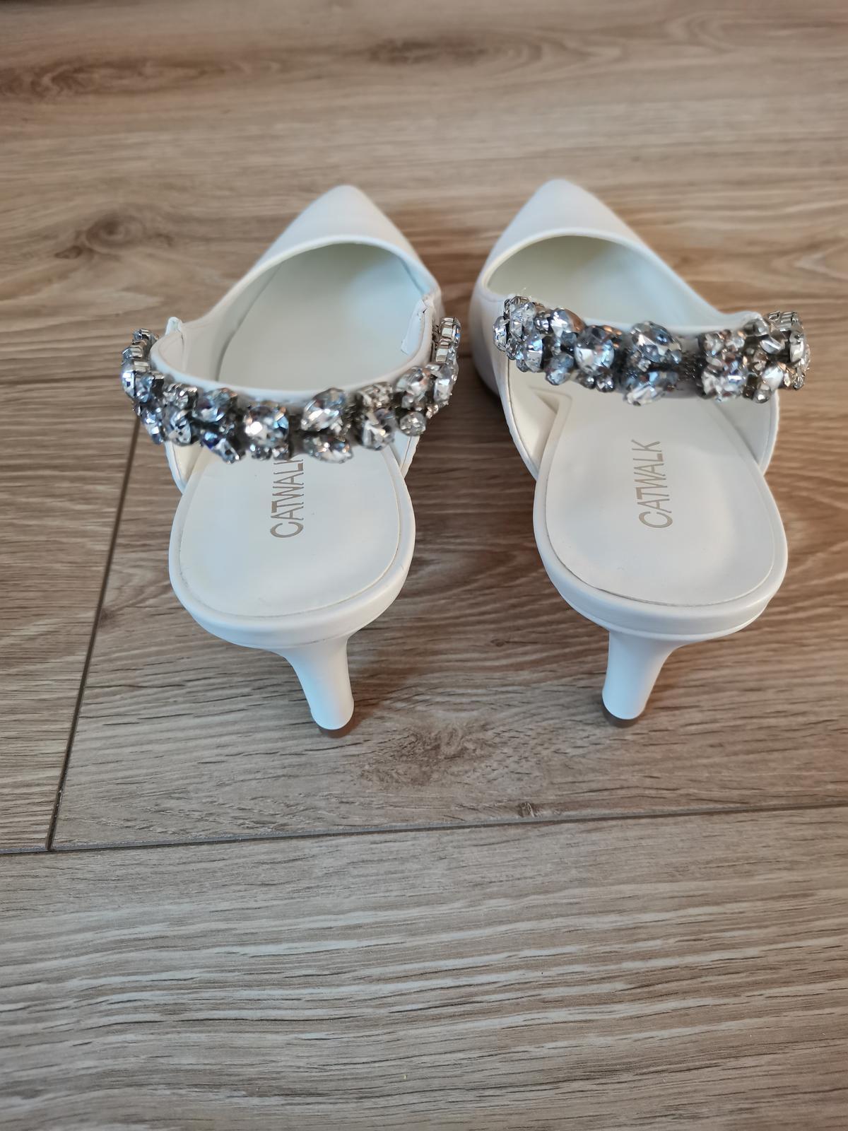 Svadobné topánky / lodičky - Obrázok č. 2